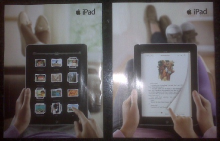 IPad magazine ads