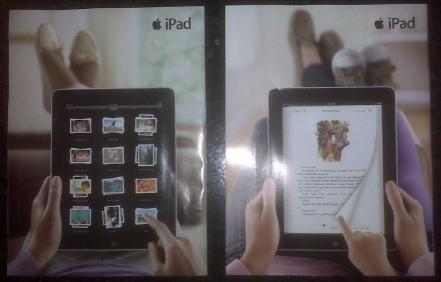 IPad magazine ads